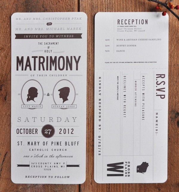 icanhappy creative wedding invitations (36, Wedding invitations