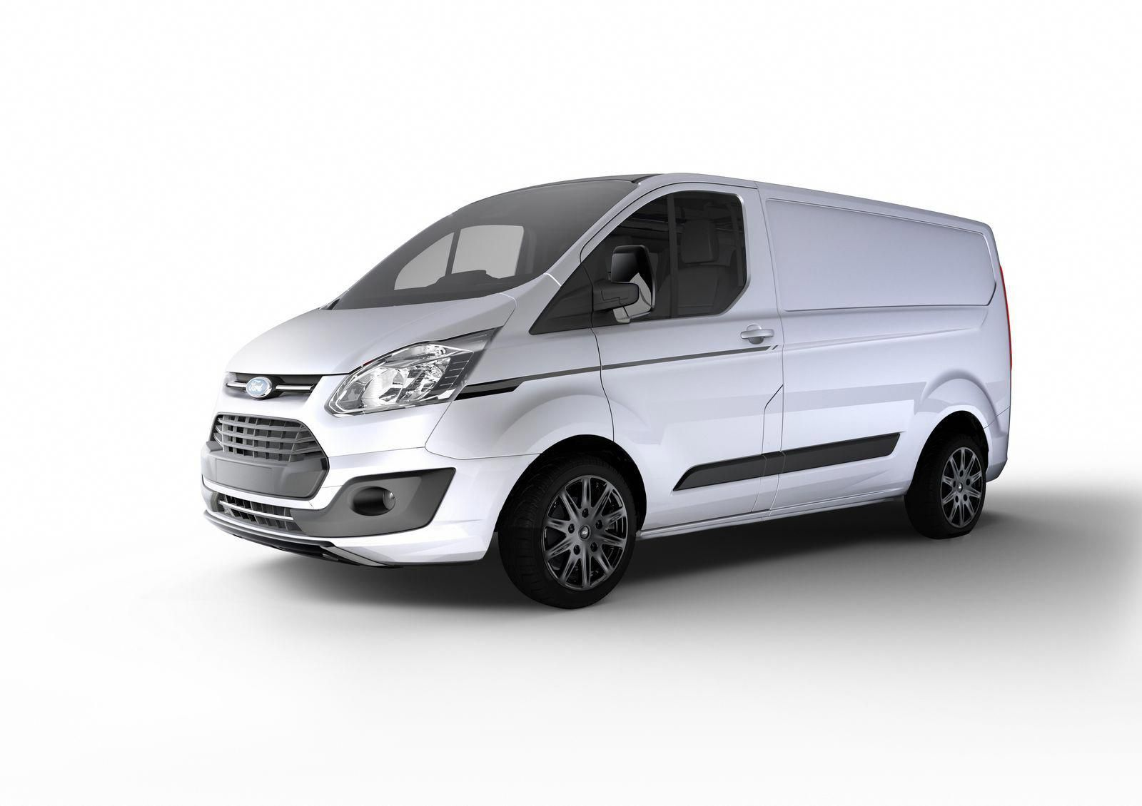 Ford Adds More Appeal To Transit With Custom Color And Sport Editions Carscoops Ford Transit Transit Custom Ford