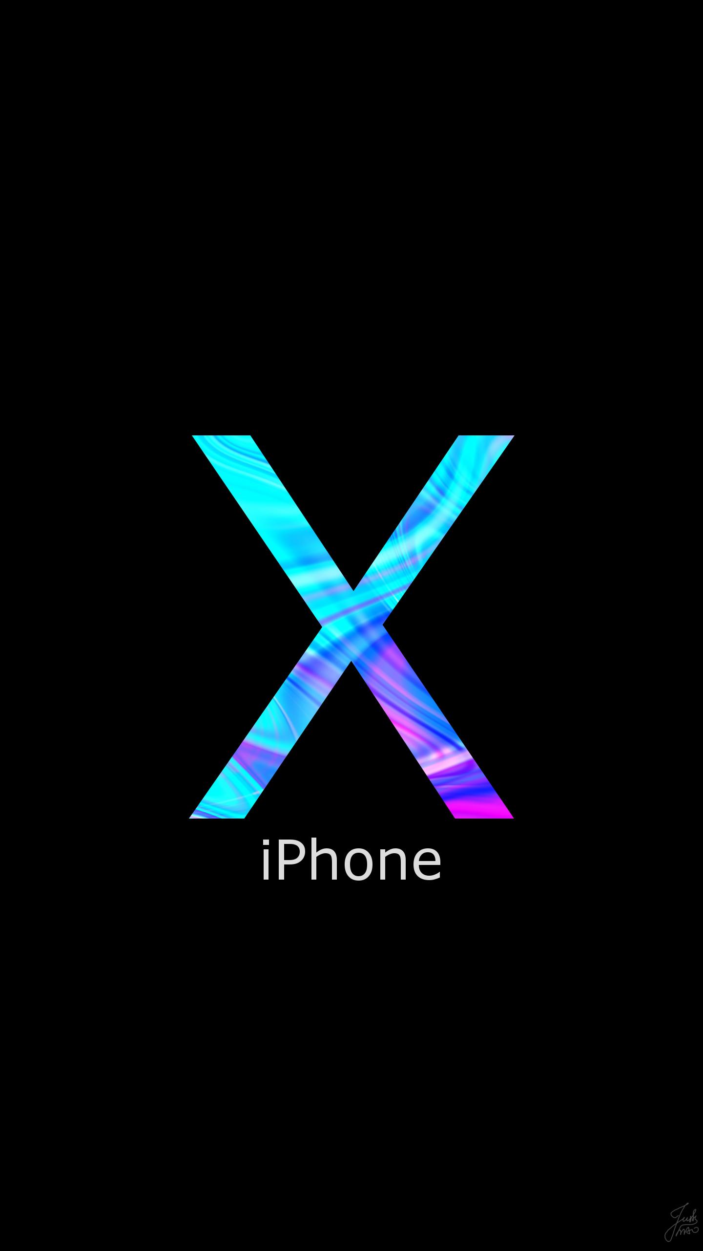 iPhone X, phone wallpaper, background, lock screen