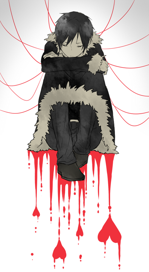 Izaya is very good wih putting up a facades or a mask on