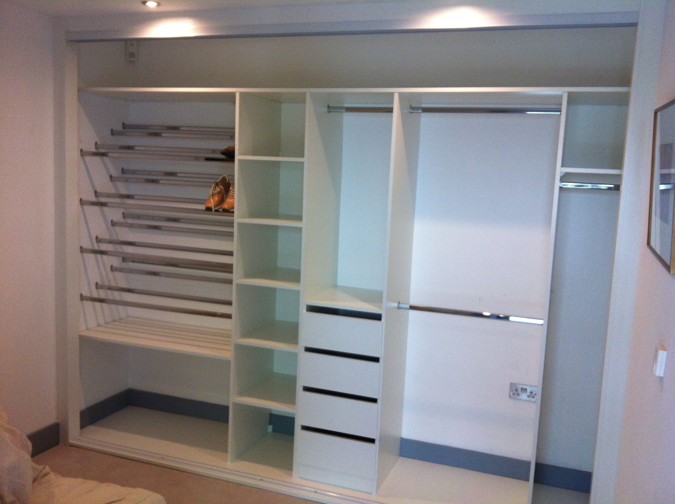 Another One Of Our Wardrobes Interiors, Note The Pair Of