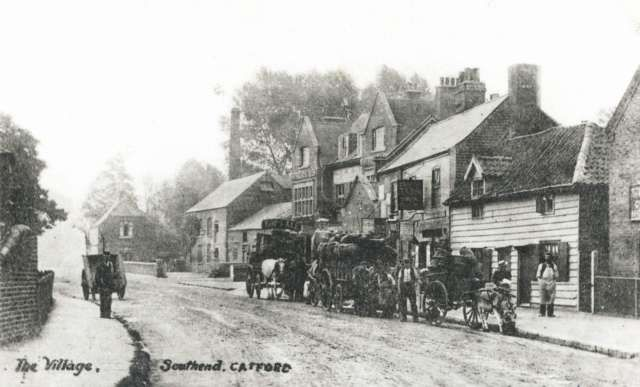 Southend Village In Bromley Kent England 1905