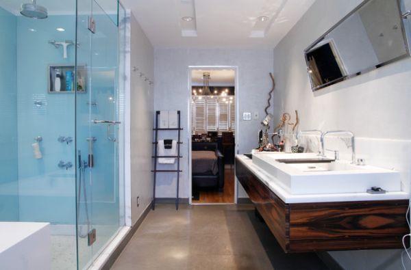 Beautiful Bathroom Towel Display And Arrangement Ideas Ladder - Bathroom towel display arrangement ideas
