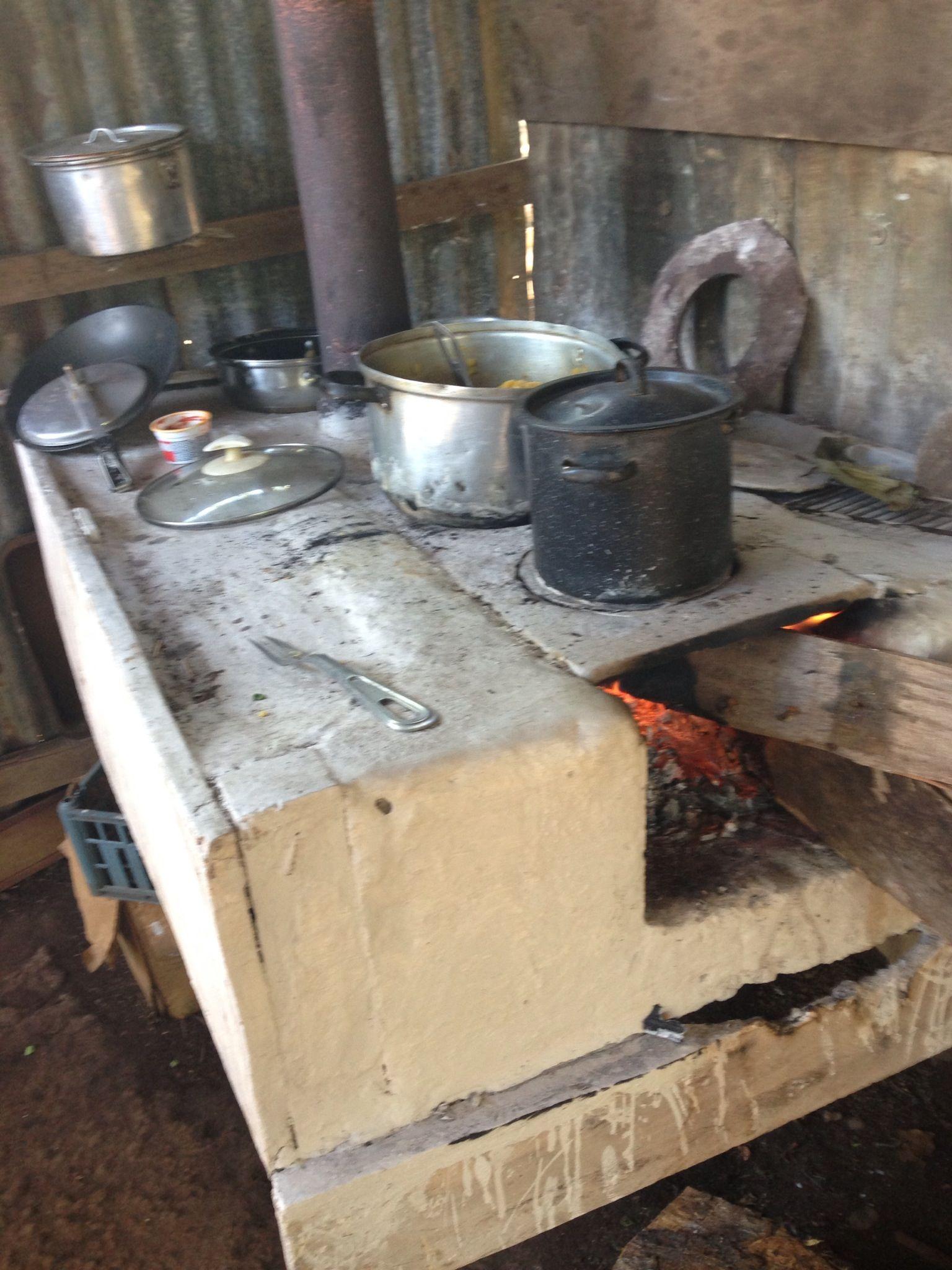 Cocina de le a de mi abuela cocina rustica pinterest - Cocinas de lena ...