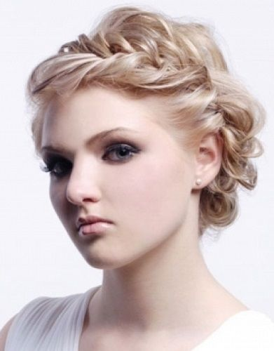 braid style updos | unique updo hairstyles curly braid Unique updo hairstyles for Women