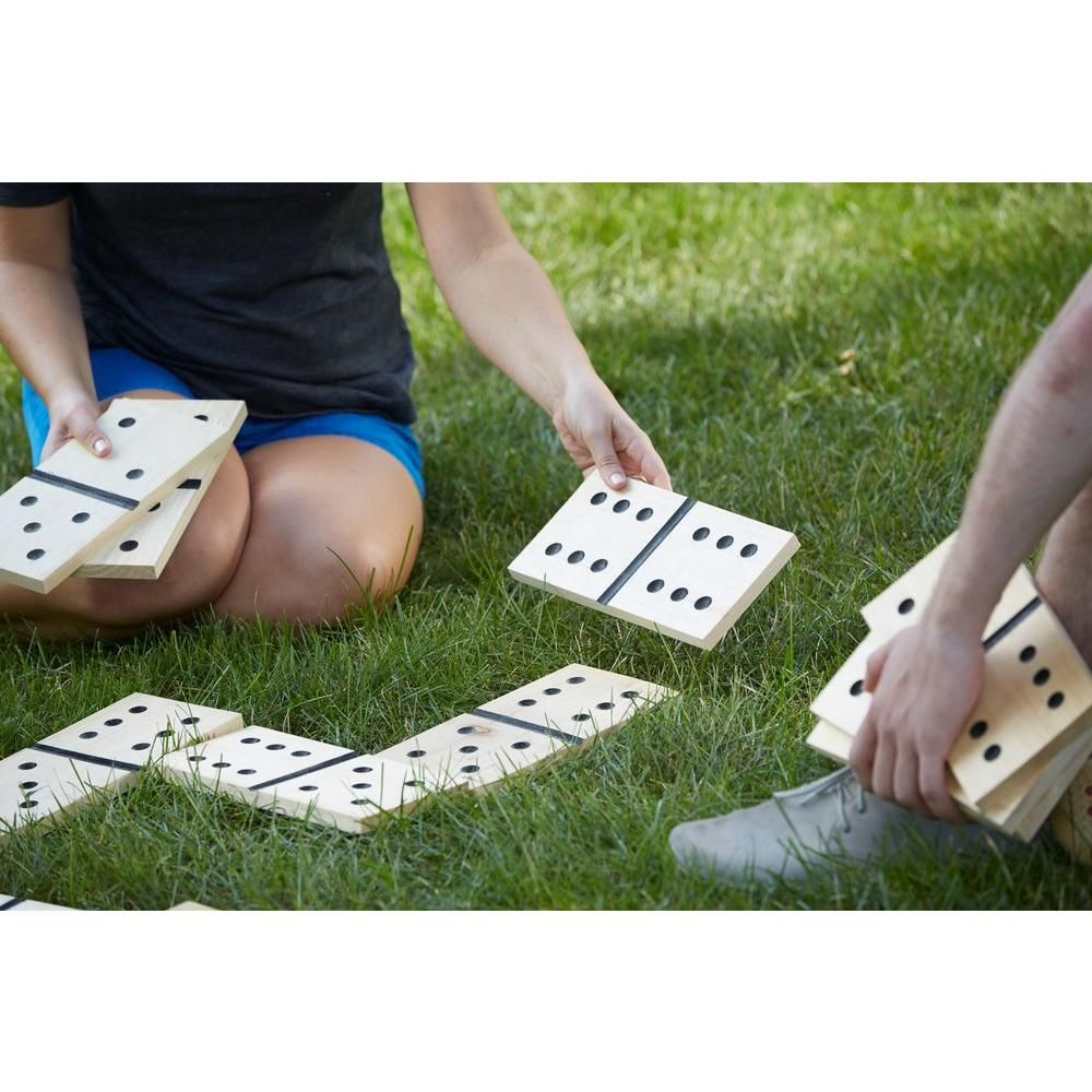 belknap hill trading post dominoes game kit burlap bags easy