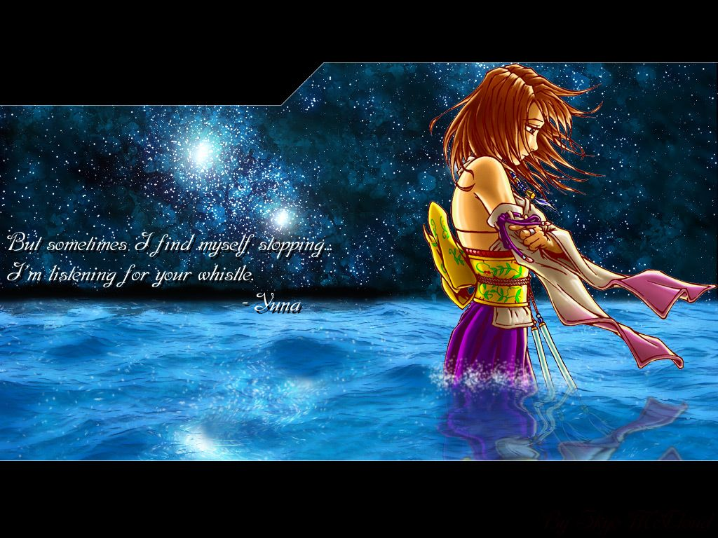 A Little Quote From Yuna Ff Pinterest Final Fantasy Final