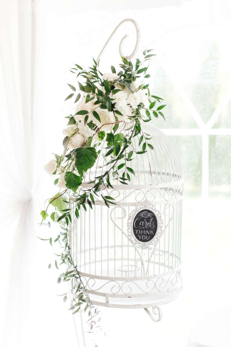 Birdcage Wedding Decor Birdcage Wedding Ideas Greenery Wedding