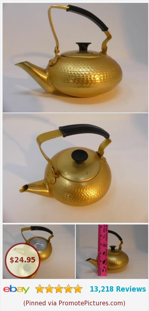 Mid-Century Teapot Golden Hammered Infuser Made in Japan Vintage | eBay http://rover.ebay.com/rover/1/711-53200-19255-0/1?ff3=4&pub=5575282018&toolid=10001&campid=5338064414&customid=&mpre=https%3A%2F%2Fwww.ebay.com%2Fitm%2F332578308523  (Pinned using https://PromotePictures.com)