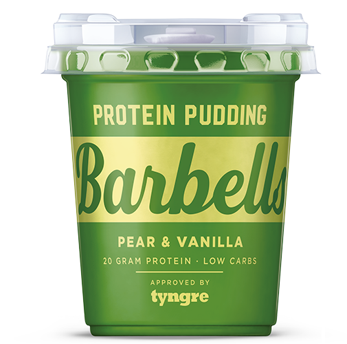 barbells proteinpudding