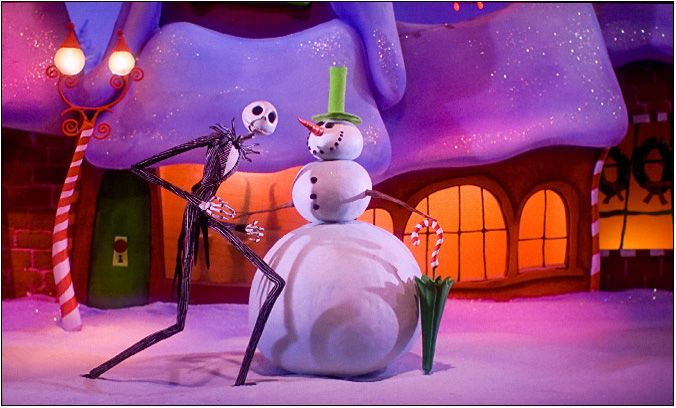 The Nightmare Before Christmas Is Coming To Blu Ray 3d This August Why So Blu Nightmare Before Christmas Movie Nightmare Before Christmas Christmas Town