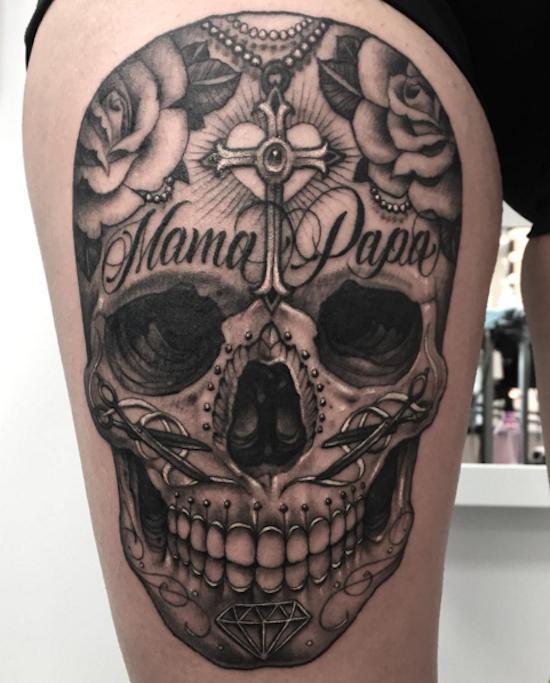 Tattoos, Sugar Skull