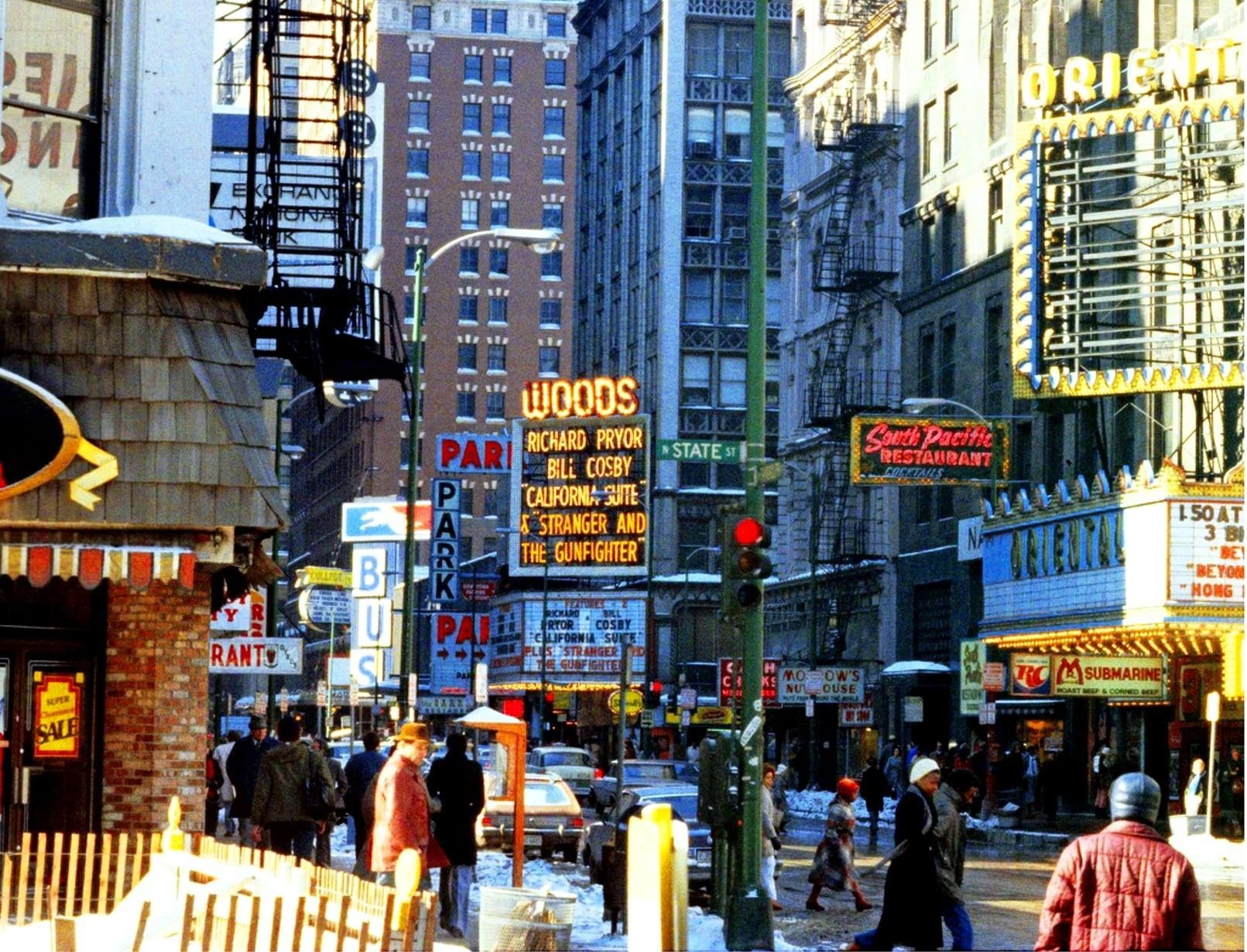 Chicago 1970 The Ultimate Decade Chicago Photos Downtown Chicago South Pacific