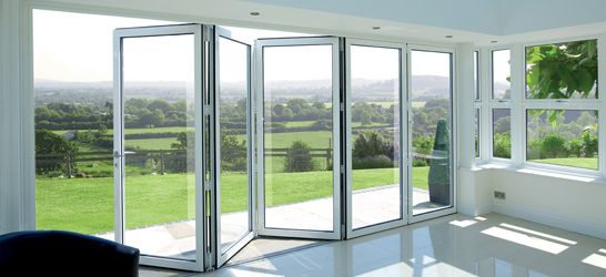 Sliding Windows And Doors Separate Rooms And Join Them At