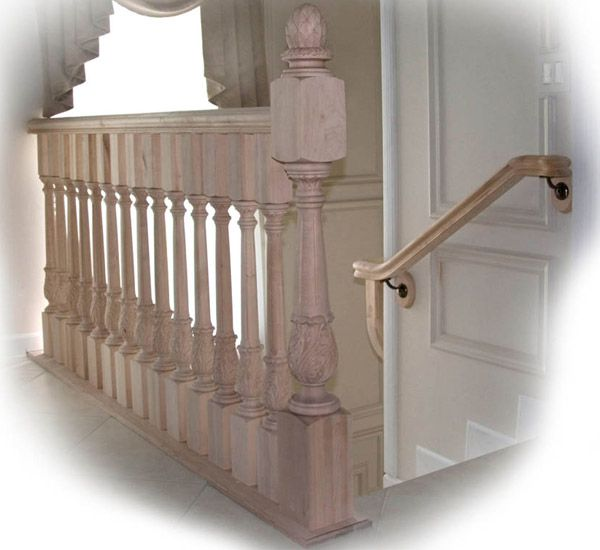 Beautiful Interior Staircase Ideas And Newel Post Designs: Wood Balusters, Cool Rooms, Staircase Design