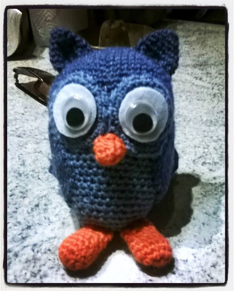 #owl #amigurumi #crochet #handmade #handmadewithlove #amigurumimania  www.facebook.com/fattoamanovioenkeli