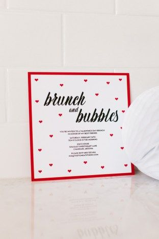 Throw A Chic Galentine S Day Party