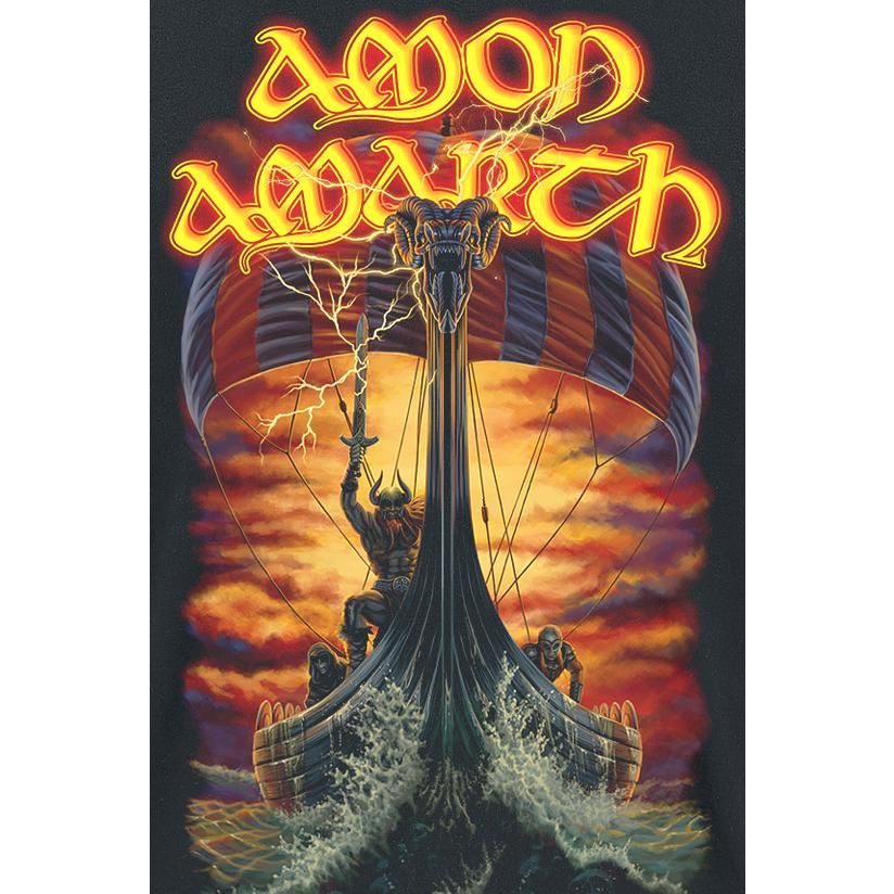 Amon Amarth T Shirt At Dawns First Light Black Buy Online Now At