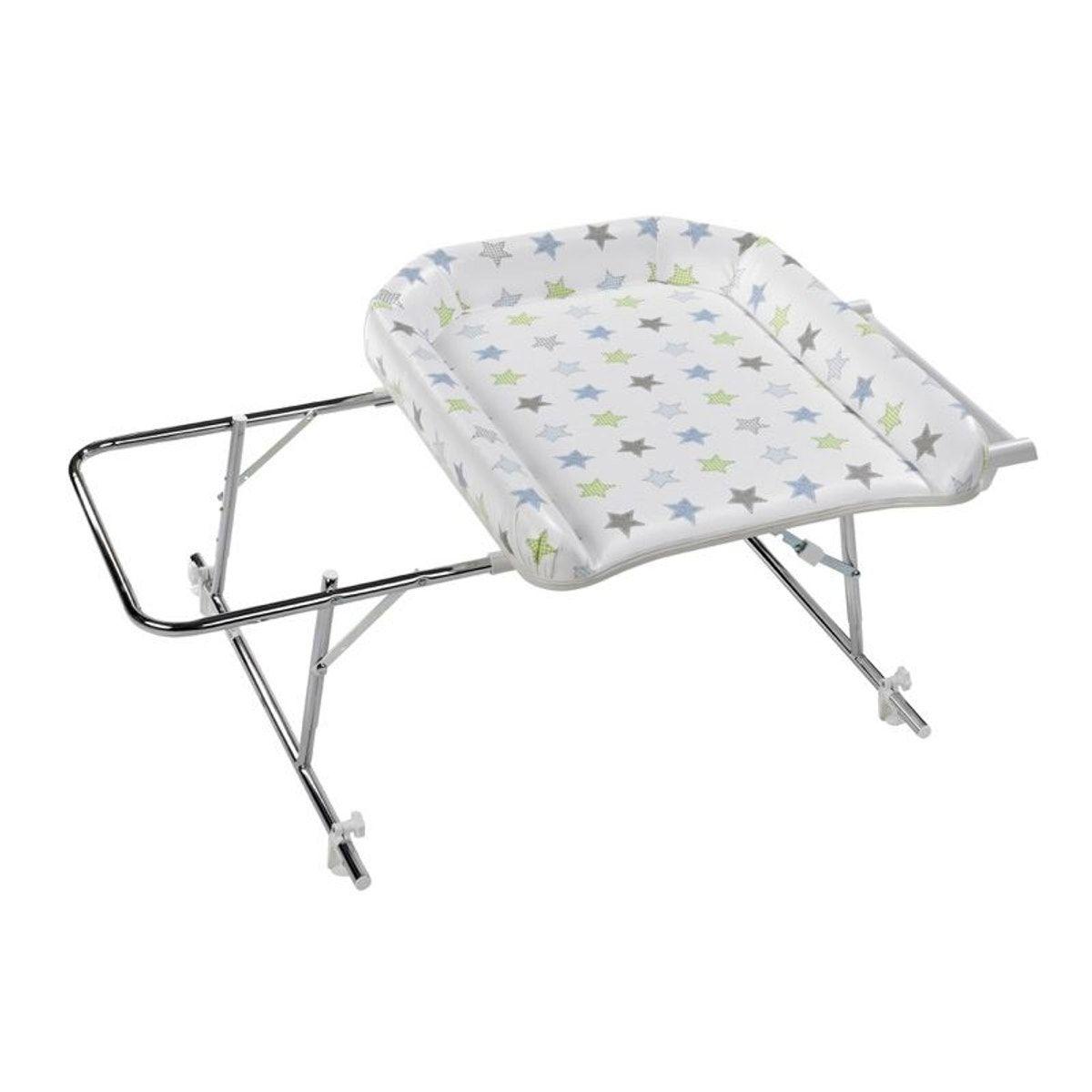 Combine Table A Langer Varix Sl Avec Matelas Pvc Etoiles Geuther