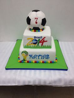 World cup cake DEPORTES Pinterest Cup cakes Cups and Cake