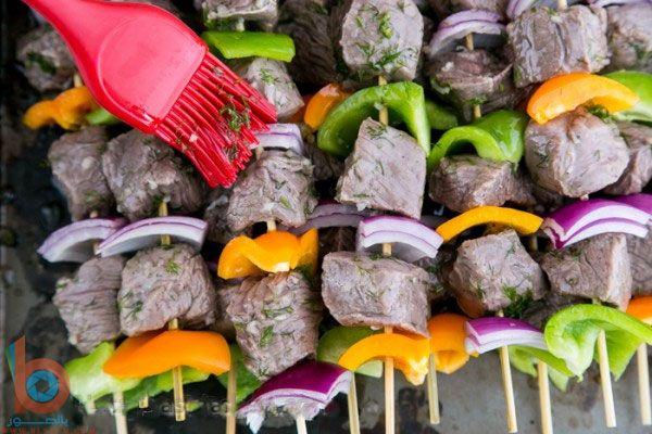 صور طريقة تتبيلة اللحم المشوي