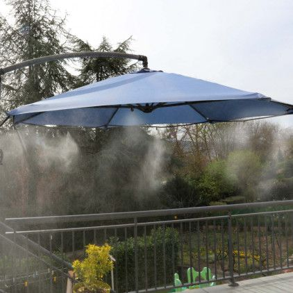 Brumisateur De Terrasse à Positionner Sur Le Parasol Pour