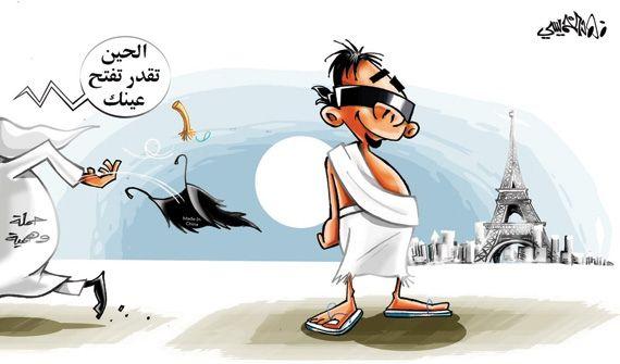 كاريكاتير صحيفة الاقتصادية (السعودية)  يوم الأربعاء 1 أكتوب 2014  ComicArabia.com (Beta)