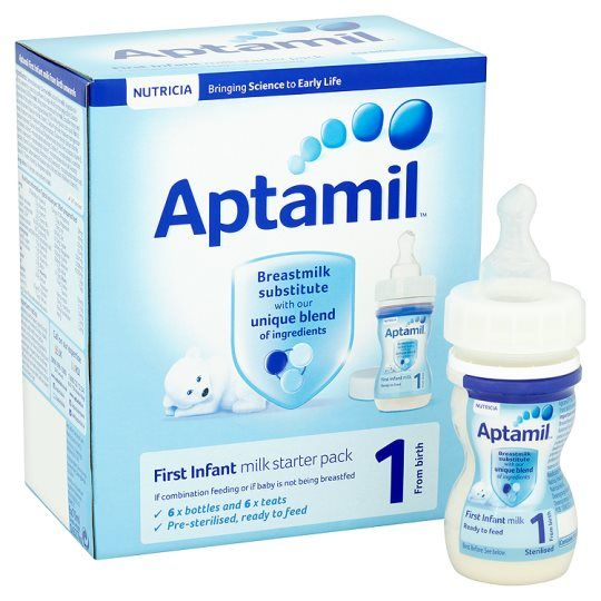 Aptamil 1 First Pack Liquids Ready To Feed Infant Milk 420ml New