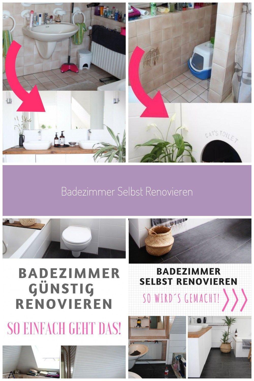 Badezimmer Selbst Renovieren So Einfach Geht Das Badezimmer Renovieren Vorher In 2020 Badezimmer Renovieren Renovieren Badezimmer