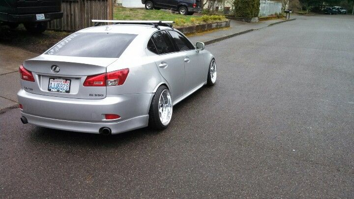 Lexus Is350 Stanced Hellaflush