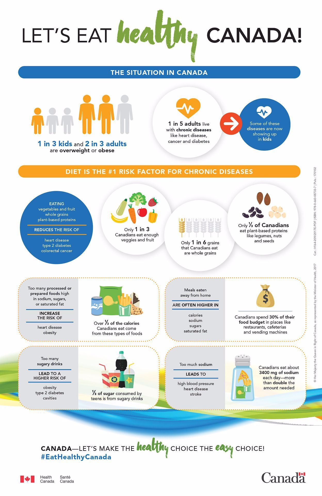 Progress Canadas New Draft Food Guide Favors PlantBased Protein And Eliminates Dairy As A Food