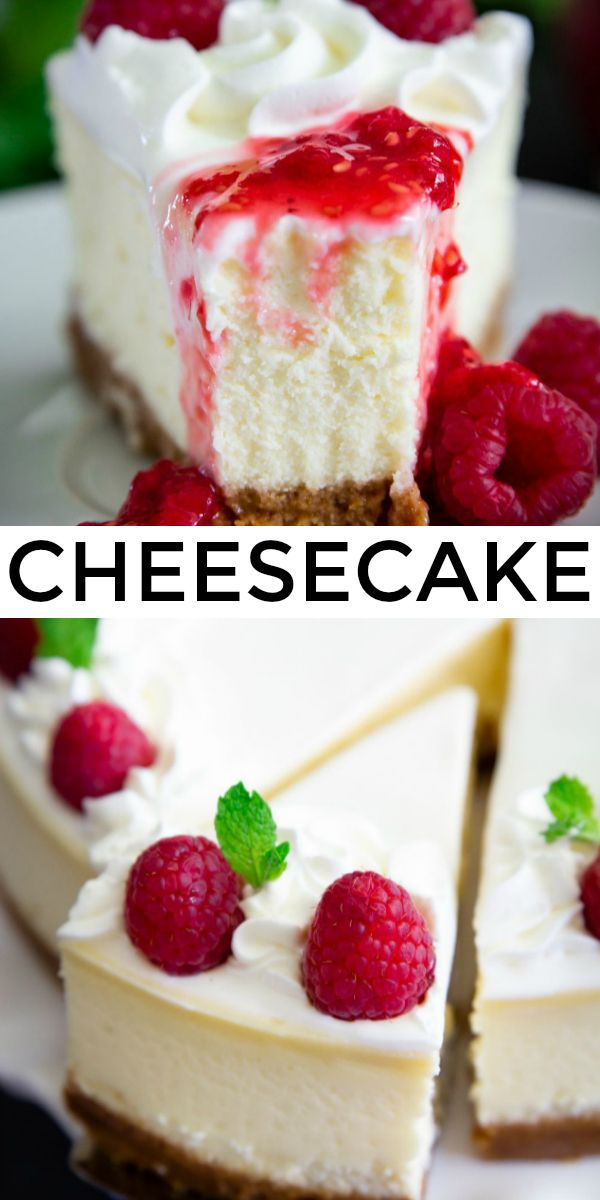 New York Style Cheesecake Recipe - Simply Home Cooked