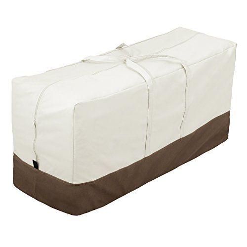 Amazonbasics Patio Seat Cushion Cover Storage Bag Patio Seat