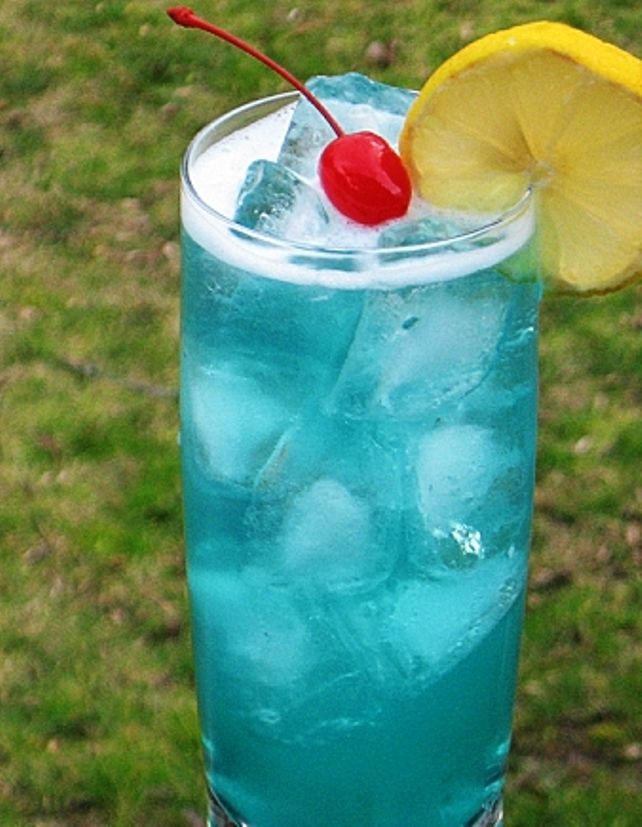 The Bestest Recipes Online Amf A K A Adios Mother F Er Cocktail Drinks Blue Curacao Fun Drinks
