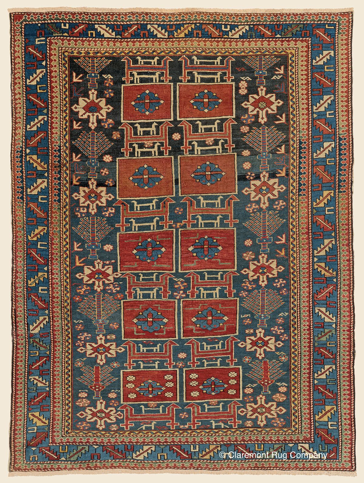 The Art And History Of Antique Caucasian Shirvan Tribal Rugs Claremont Rug Company Antique Oriental Rugs Rugs