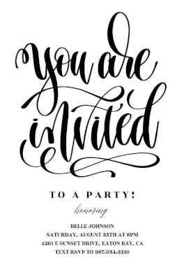 You Are Invited Party Invitation Template Free Greetings Island Graduation Party Invitations Templates Grad Party Invitations Party Invite Template