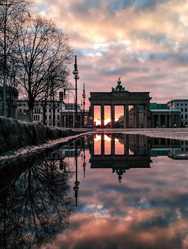Brandenburg Gate Berlin Germany Brandenburger Tor Deutschland Berlin Reise