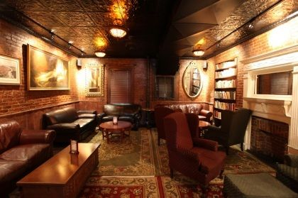 Speakeasy style decor