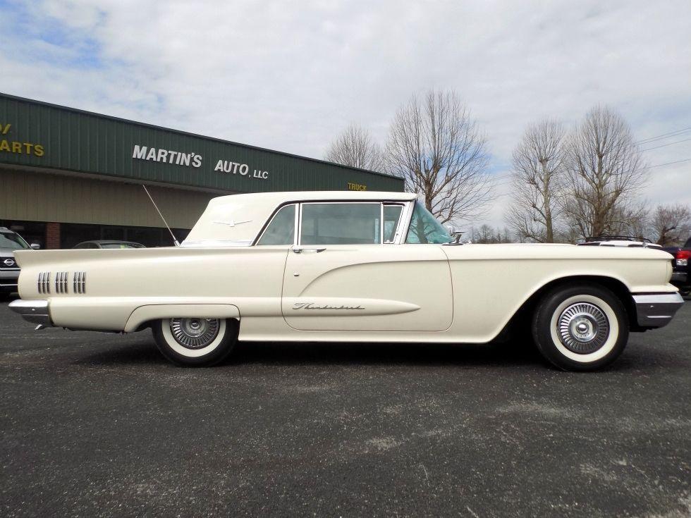 1960 Ford Thunderbird Coupe For Sale Autos Modelos Estilo