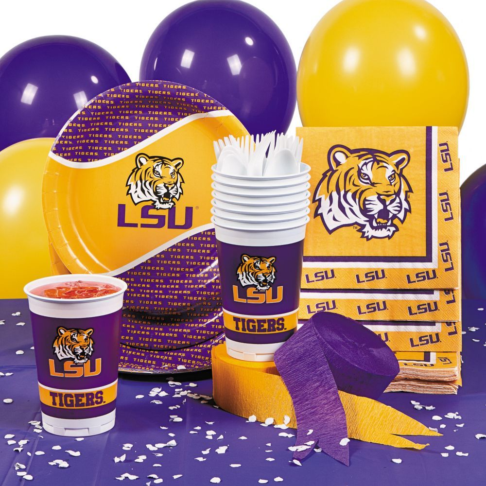 NCAA(TM) LSU Basic Party Pack