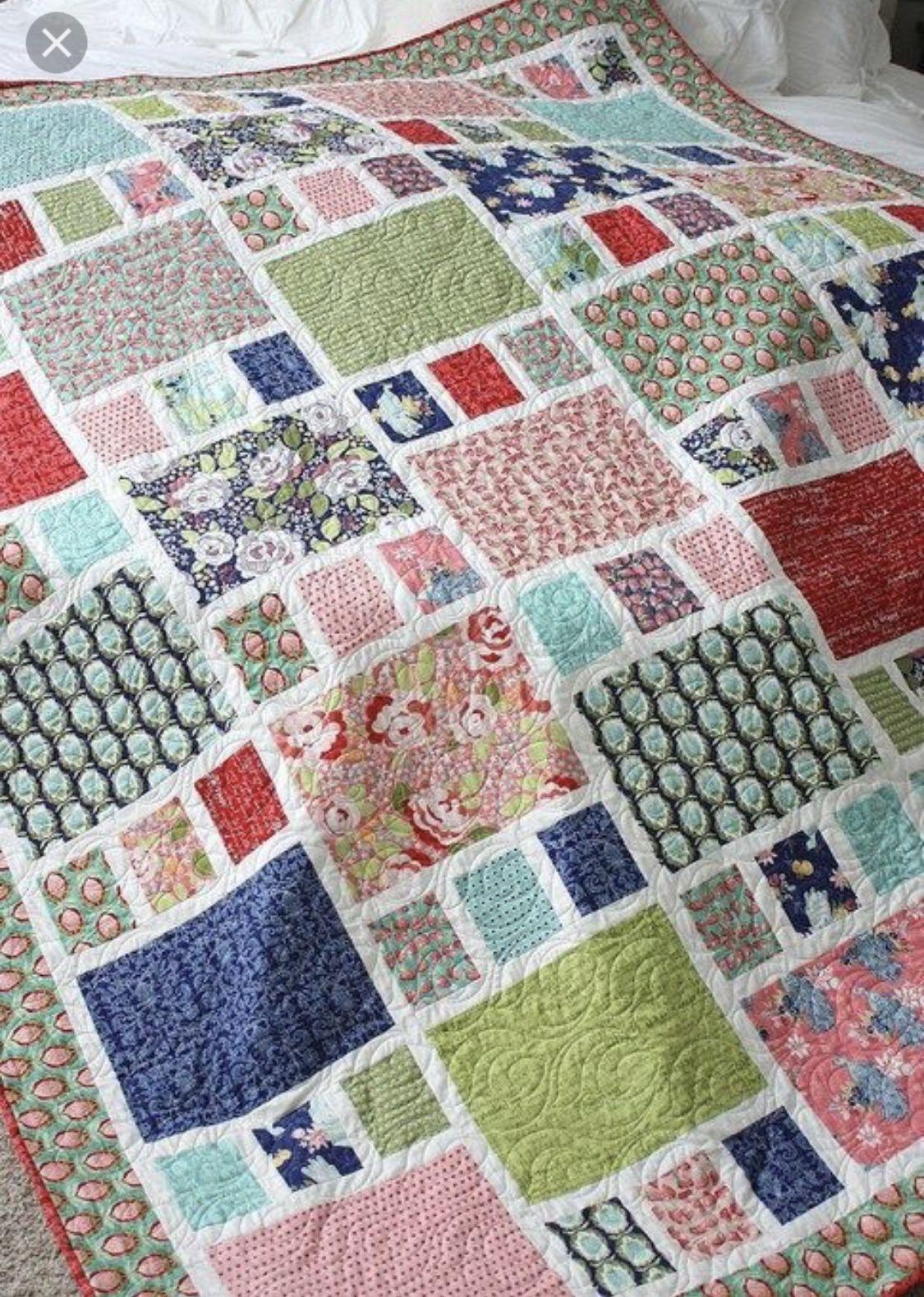 Free Big Block Quilt Patterns Best Design Inspiration