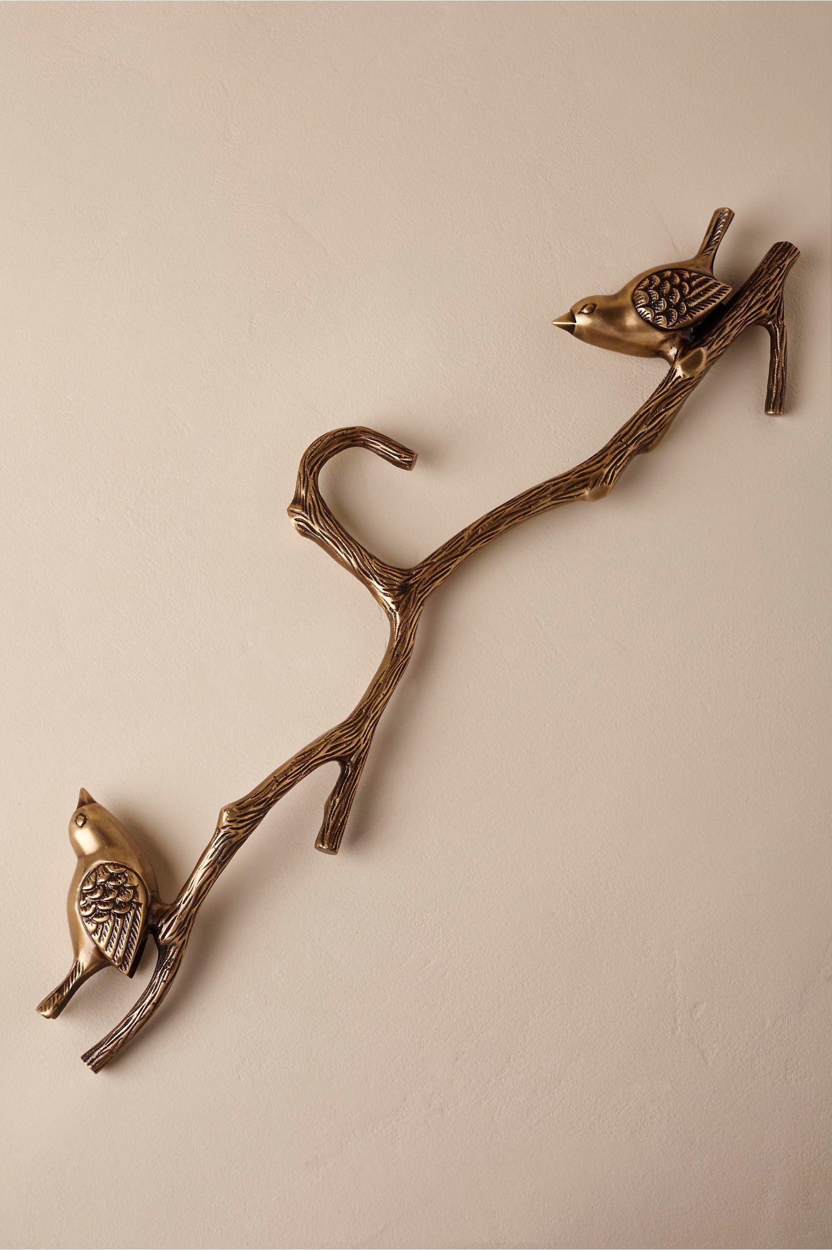 Bhldn love birds hanger bronze design desires pinterest