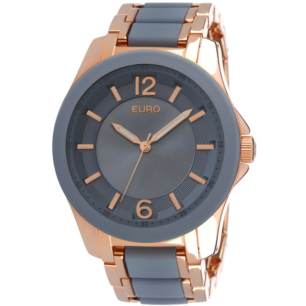Relógio Feminino Analógico Euro Kiev EU2035FGN 4C - Rose Gold - euro ... f069b720b5