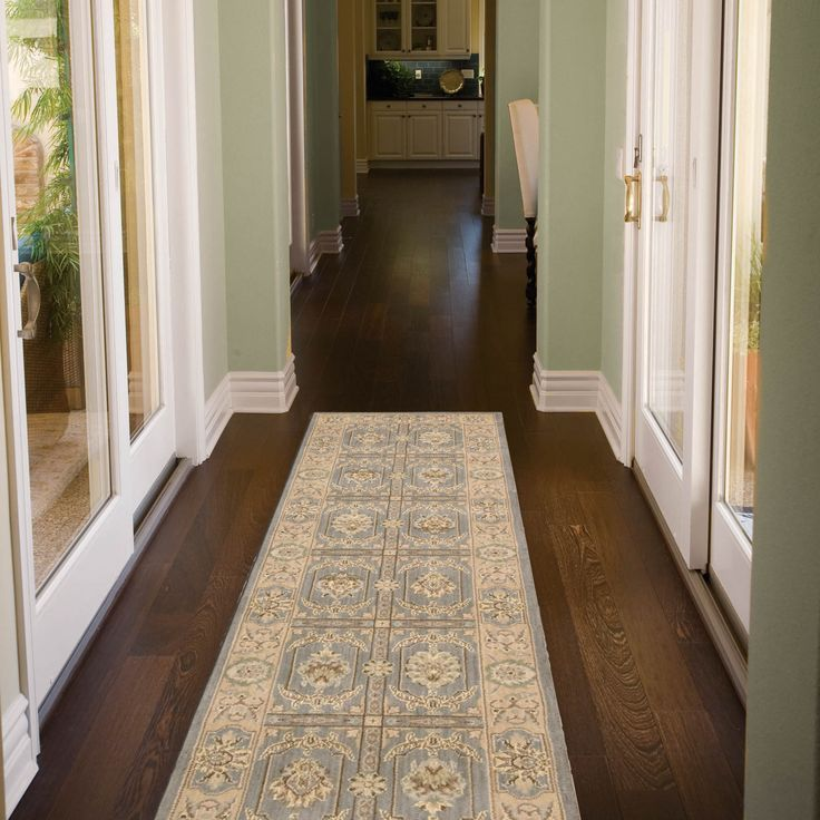 20 Inspirations Of Runner Hallway Rugs: Persian Empire Runners PE23 Slate By Nourison69x244cm