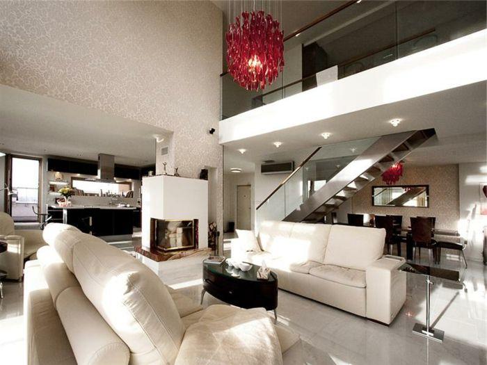 wohnzimmereinrichtung weiße möbel ovaler couchtisch Wohnzimmer - luxus wohnzimmer einrichtung modern