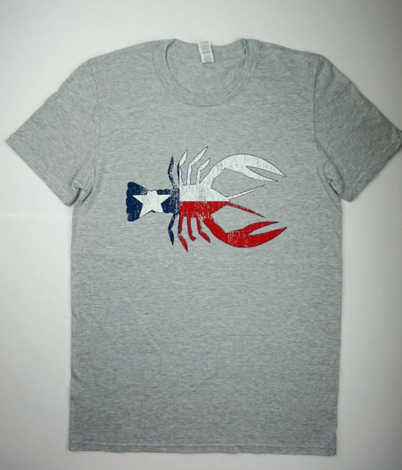Crawfish T-shirt by StrictlySouthernCo on Etsy