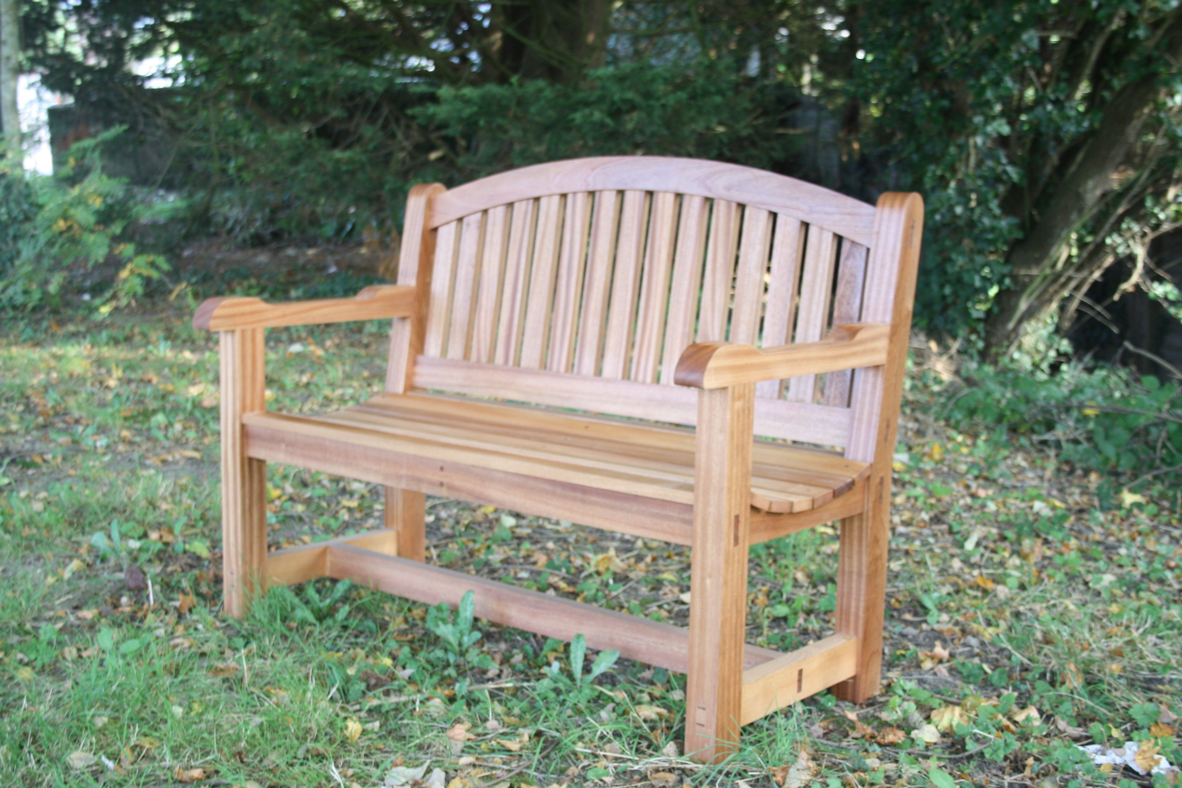 Image result for how to build a wooden bench with a back