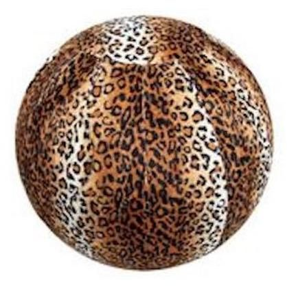 Rug Factory Plus, Bouncy Ball Collection, Bouncy Ball Leopard-Warm Fuzzies Place