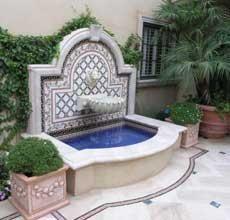 Outdoor Wall Fountains Garden Water Gardens Walls Living