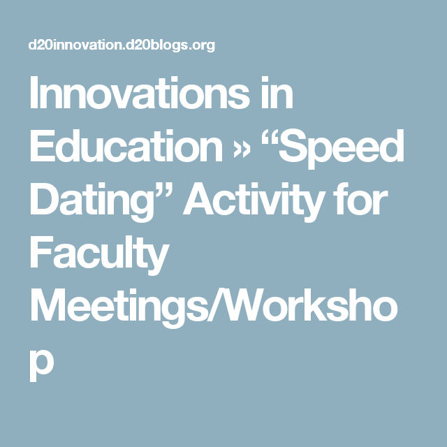 workshop speed dating a modern dating horror story youtube